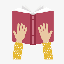 vector read book vector open book reading png and vector