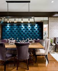 toronto candice olson designs with contemporary chandeliers dining room and tufted upholstery wall mirorred