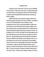 classical conditioning essays and papers helpme classical conditioning theory essay