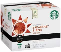 Breakfast blend is a lively and lighter roast with a crisp finish; Kroger Starbucks Breakfast Blend Ground Coffee K Cup Pods 32 Ct