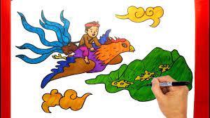Vẽ Truyện Cổ Tích Cây Khế - Dạy Vẽ Tranh Truyện Cây Khế   Truyện cổ tích,  Drawing, Siêu nhân