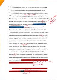 essay of romeo and juliet romeo and juliet essay reflection friar  essay of romeo and juliet