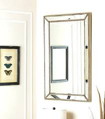 rectangle wall mirror abbyson living delano black leather floor mirrors