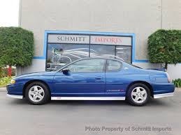 All Chevy 98 chevy monte carlo : 2003 Used Chevrolet Monte Carlo Jeff Gordon Edition at Schmitt ...