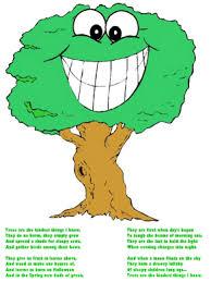 trees poem trees poem