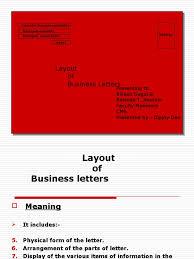 Layout Of Business Letter Ellipsis Paragraph