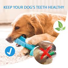 larosa al dog chew toothbrush 2019 upgraded dog toothbrush toy safe non toxic and durable dog toothbrush stick best dog toothbrush for dogs