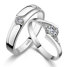 matching silver wedding bands. his \u0026 hers matching couple cz sterling silver rings wedding band set bands s