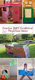 playhouse furniture ideas. Creative DIY Cardboard Playhouse Ideas! Furniture Ideas