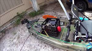 Sealect Designs Anchor Trolley Kit For Kayaks Pelican Catch 120 Kayak Rudder Installation