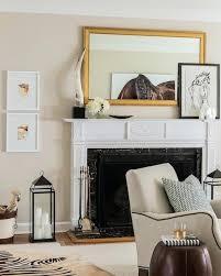 decor above fireplace mantel above fireplace