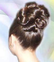 Локоны на макушке букли из волос Мастер класс в картинках и  Букли из волос фото