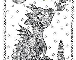 Fantasy Coloring Pages Printable Zen Coloring Pages For Adults