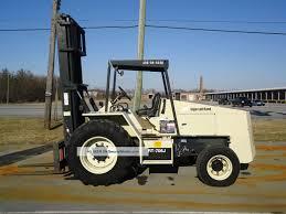 Ingersol Rand Forklift 2007 Ingersoll Rand Rt 706j Rough Terrain Forklift Loader