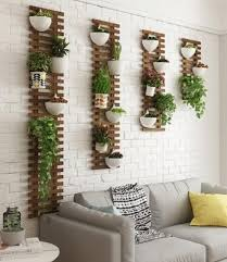wooden garden planter stand patio wood
