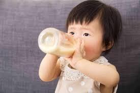 stop feeding my baby formula