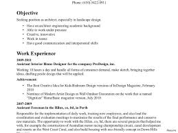 Landscaping Resume Examples Summary Of Qualifications Resume Examples Create On Depy 100nvr 41