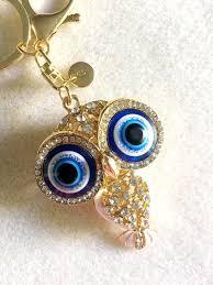 personalized owl keychain gold owl gifts owl jewelry owl key ring owl key chain initial keychain personalized owl gift evil eye keychain