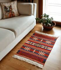 small area rug anatolian series red green