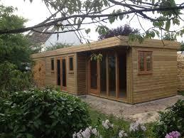 office garden. Garden Office And Garage Combined