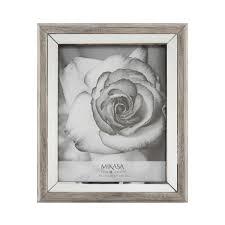 mikasa silver edge mirror 8x10 photo free on orders over 45 com 19532738