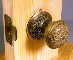Old Rose Hardware - install old doorknobs on any door. Easy installation.