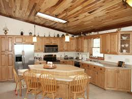 Hickory Kitchen Hickory Kitchen Cabinets Style All Home Ideas Rustic Hickory With
