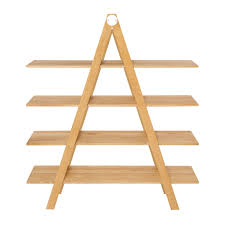 Raumgestalt Ladder Shelf Oak