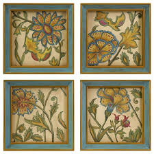 wall art ideas design golden yellow french country wall art handpainted beautiful transitional decorations square framed painted french country wall art