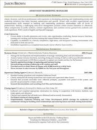 resume samples for sales and marketing  sell yourself sales and marketing resume samples