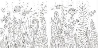 海の楽園 不思議いっぱいのぬりえブック ジョハンナバスフォード