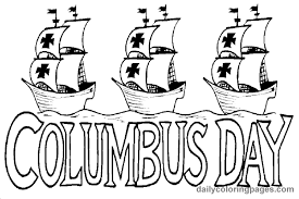 Small Picture Columbus Day Coloring Pages Online Printable Monthly Calendar