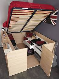 Bed with incredible storage.