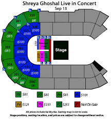 Seating Charts Angel Of The Winds Arena