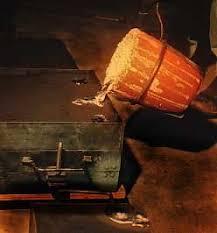 62 Best Casting Images On Pinterest  Blacksmithing Oil Heater Backyard Metalcasting