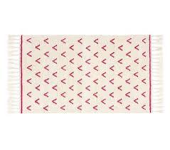 broken arrow rug 3x5 feet pink