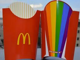 Mcdonald's supports gay parade