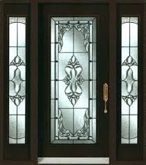 beveled glass inserts door a b c front cabinet leaded