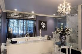 master bathroom ideas crystal chandelier design