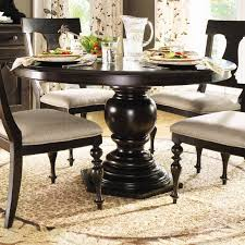 gallery of owen extending pedestal dining table pottery barn round pedestal dining room table layout design minimalist
