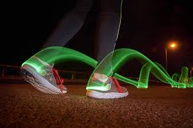 Led Ankle Lights Auraglow Clip On High Visibility Led Ankle Light Armband Safety When Running Jogging Cycling Hiking Walking 2 Light Modes