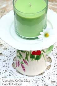 Decorative Cup And Saucer Holders Make DIY Decorative Candle Holders from Old Coffee Mugs 56