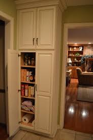Furnitures:Glamorous White Door Corner Kitchen Pantry Cabinet Idea Simple Pantry  Cabinet for Storage Ideas