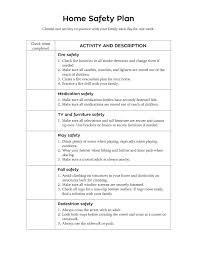 sample safety plan sample safety plan sample safety plan template free samples