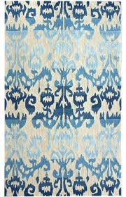 charming ikat rug awesome rugs good area vintage and blue realistic uk decoration ideas 4