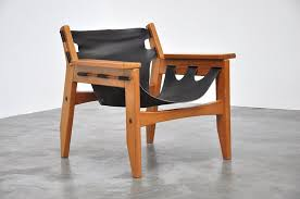 super cool pair of easy chairs designed by sergio rodrigues for oca furniture in 1973 for