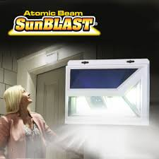 Atomic Security Light Atomic Beam Sunblast Motion Sensor Light Bulbhead