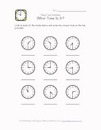 FREE 1st Grade Math: Telling Time – Half Past the Hour ...