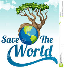 plant trees save earth clipart clipartxtras save the world poster earth and tree stock vector