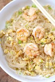 stir fried gl noodles with shrimp